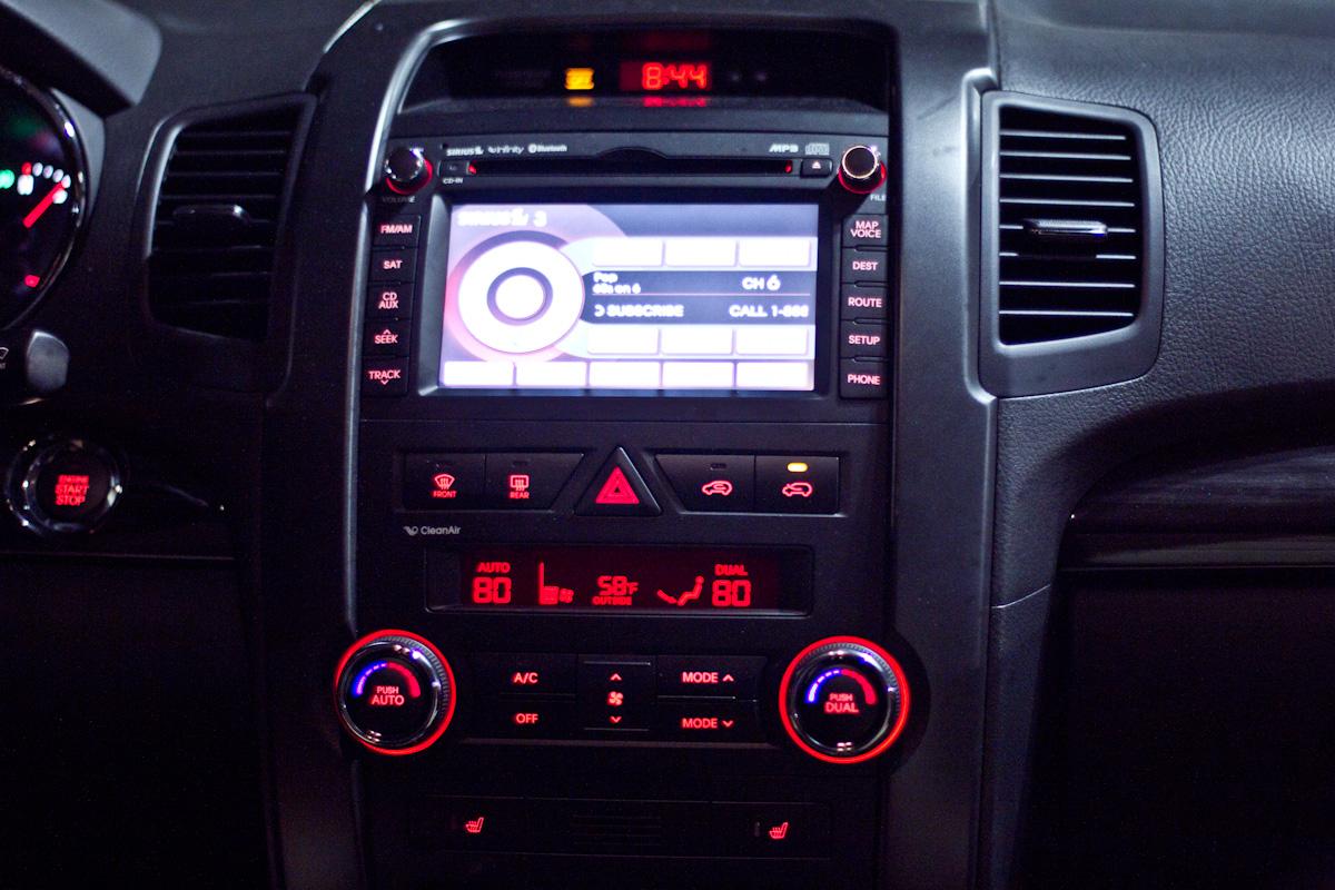 Kia Sorento Dashboard Lights