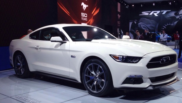 In celebration of the Mustang's 50th anniversary, Ford announced a limited edition model today at the New York Auto Show. The 50th anniversary edition will run in just 1,964 numbers. […]